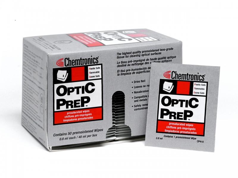 ITW Optic Prep getränkte Reinigungstücher