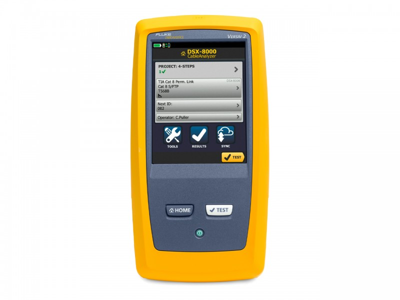 FLUKE DSX2-8000-W INT Cable Analyzer