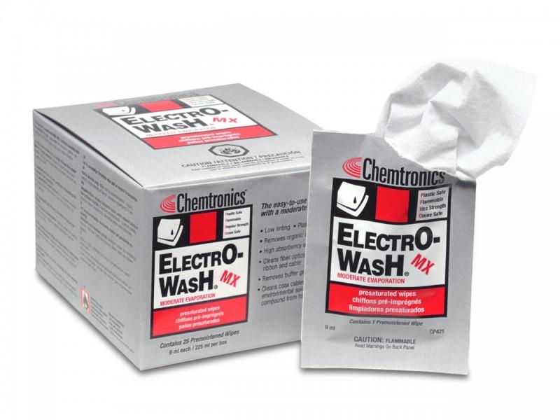 ITW Elektro-Wash MX getränkte Reinigungstücher