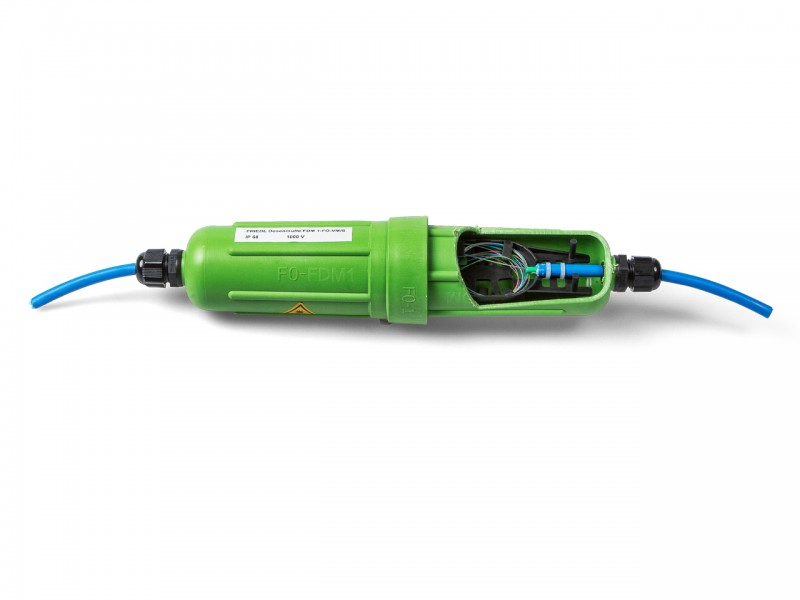 "FDM LWL Universalmuffe ""Krimp"" Farbe: grün"