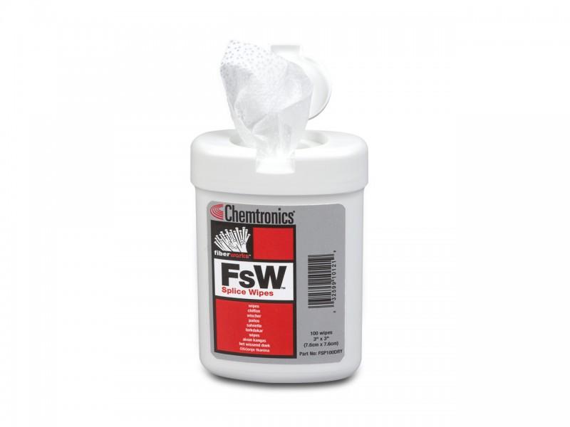ITW FsW Reinigungstücher trocken (7,6 cm x 7,6 cm)