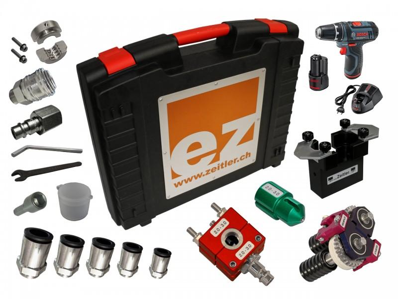ZEITLER Einblasgerät FTTx Kit 2