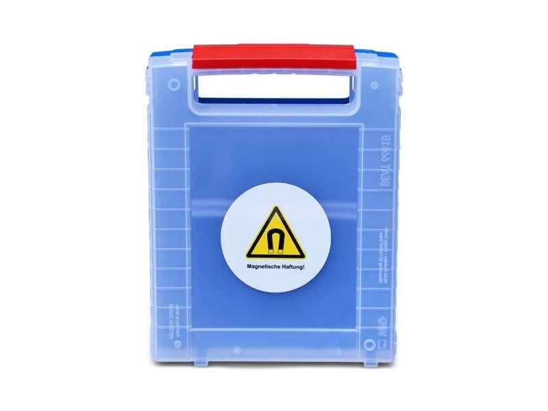 Kunststoffkoffer für modulare Vorlaufffaserspule